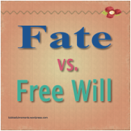 macbeth fate or free choice essay Free essay: he had his fate going one way, but through his own free will he was able to turn it another way the main instance of macbeth's free will being.